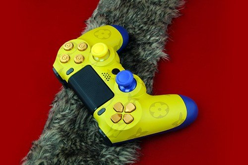 ps4 controller scuf custom gelb louis king
